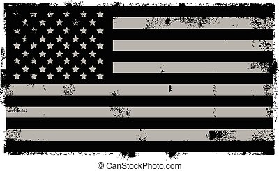 グランジ, アメリカ人, 黒い背景