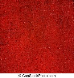 グランジ, カラフルである, 抽象的, 手ざわり, ペーパー, 背景, ∥あるいは∥, 赤