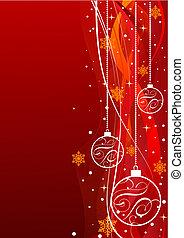 グランジ, クリスマス, 背景