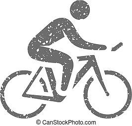 グランジ, サイクリング, -, アイコン