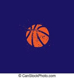 グランジ, バスケットボール, シルエット