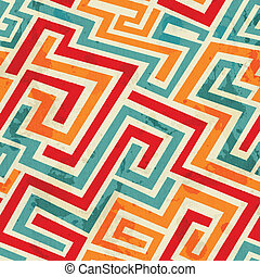 グランジ, パターン, seamless, 効果, らせん状に動く, 型