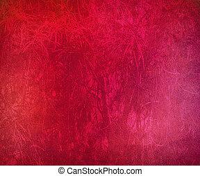 グランジ, ピンク, 筋を付けられた, 抽象的, 背景