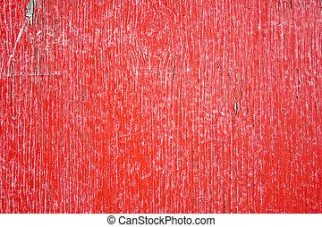 グランジ, フェンス, 手ざわり, 赤