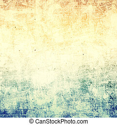 グランジ, ペーパー, 背景, ∥で∥, スペース, ∥ために∥, テキスト, ∥あるいは∥, image., textured, d
