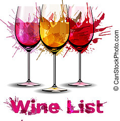 グランジ, リスト, テンプレート, ワイン