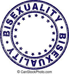 グランジ, 切手, textured, bisexuality, シール, ラウンド