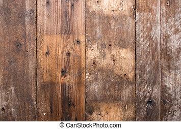 グランジ, 古い, 木, バックグラウンド。, 型