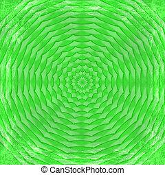 グランジ, 型, 抽象的, 手ざわり, バックグラウンド。, 緑, フレーム