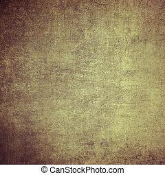 グランジ, 型, wall., 高く, バックグラウンド。, textured, 決断