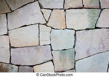 グランジ, 壁, multi-sized, 手ざわり, 岩, 背景, 多彩, 薄い