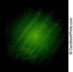 グランジ, 手ざわり, ベクトル, 緑の黒板, 背景