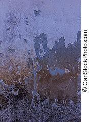 グランジ, 手ざわり, 古い, 背景, 壁, セメント
