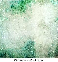 グランジ, 手ざわり, 抽象的, 古い, 背景, デリケートである, キャンバス
