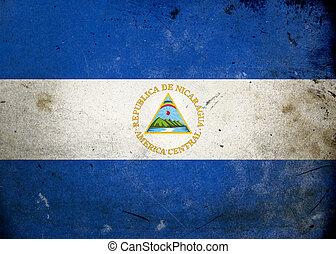 グランジ, 旗, ニカラグア