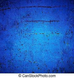 グランジ, 暗い, 抽象的, 青, textured, 壁, 背景, バックグラウンド。