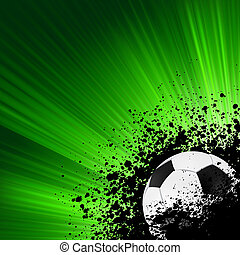 グランジ, 爆発, フットボール, eps, 8, poster.