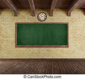 グランジ, 空, 教室