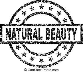 グランジ, 美しさ, 切手, textured, シール, 自然