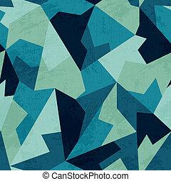 グランジ, 色, パターン, seamless, 効果, 海洋, モザイク