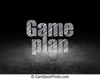 グランジ, 部屋, ビジネス, 暗い, 作戦, concept: