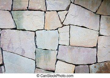 グランジ, ba, 壁, multi-sized, 手ざわり, 岩, 多彩, 薄い