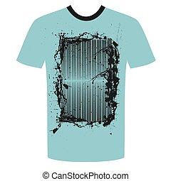 グランジ, tshirt, デザイン