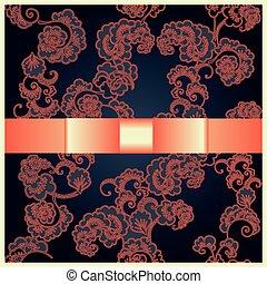 グリーティングカード, ∥で∥, 日本語, 装飾, バラ