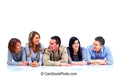グループ, あること, floor., 人々