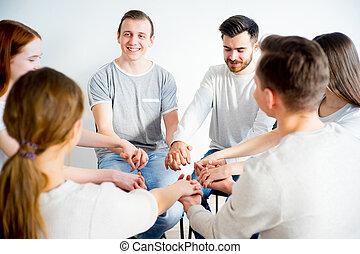 グループ, セッション, 療法
