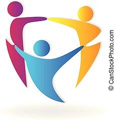 グループ, チームワーク, ミーティング, ビジネス, アイコン