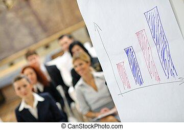 グループ, ビジネス セミナー, 人々