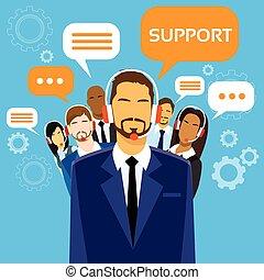 グループ, ビジネス 人々, テクニカルサポート, チーム, 線
