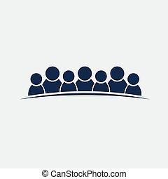 グループ, 人々, 人, チームワーク, 7, 友情, ∥あるいは∥