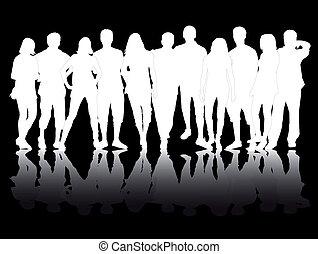 グループ, 人々