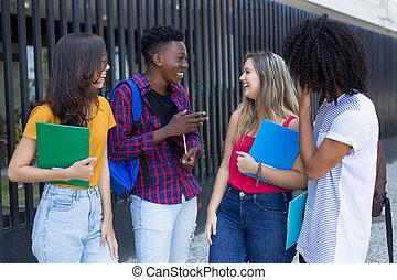 グループ, 冗談を言うこと, 生徒, 大学, 方法, インターナショナル