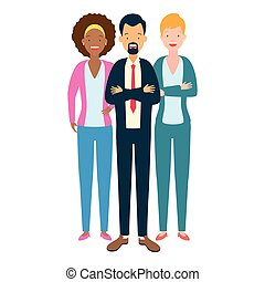 グループ, 多様性, 人々