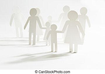 グループ, 子供, 人々