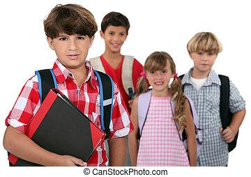 グループ, 学童