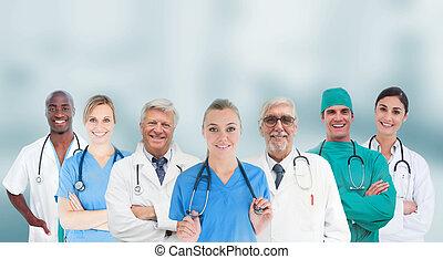 グループ, 微笑, 医学