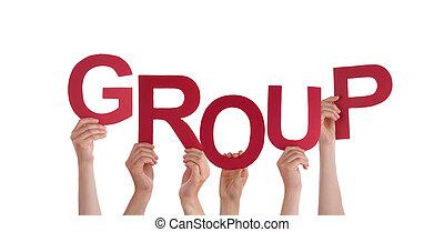 グループ, 手を持つ