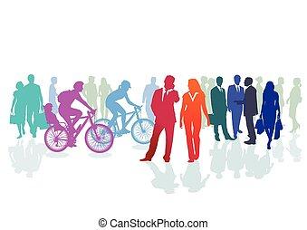 グループ, 有色人種