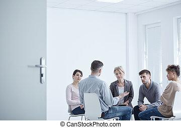 グループ, 療法, ptsd