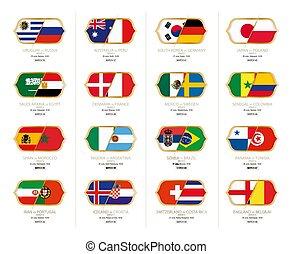 グループ, 第3, トーナメント, venues, 時, キックオフ, ゲーム, russia., サッカー