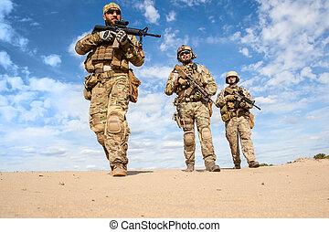 グループ, 軍隊, 我々力, 兵士, 特別
