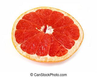 グレープフルーツ, 半分