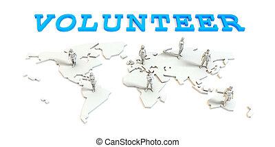 グローバルなビジネス, ボランティア