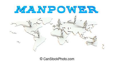 グローバルなビジネス, マンパワー
