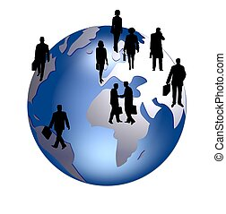 グローバルなビジネス, 人々