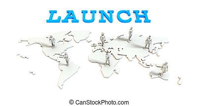 グローバルなビジネス, 発射